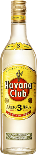 Rum Havana Club 03 Anos 750 mL - Cód.11094