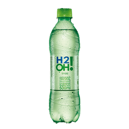 Água Saborizada H2oh Limão 500 mL