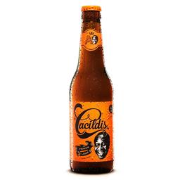 Cerveja Cacildes Amber Lager 350 mL