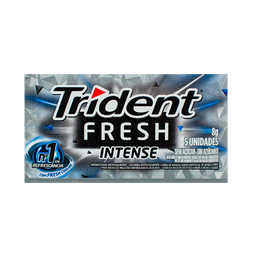 Chiclete Trident Fresh Intense 8,5 g