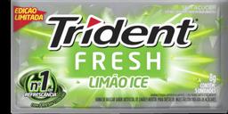 Chiclete Trident Fresh Limão Ice 8 g