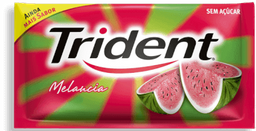 Chiclete Trident Melancia Sem Acuca 8,5 g
