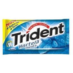 Chiclete Trident Regular Hortela 8.5 g