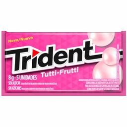 Chiclete Trident Tutti Frutti 8,5 g