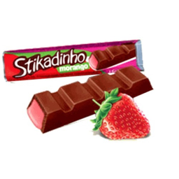 Chocolate Stikadinho Morango 12,3 g