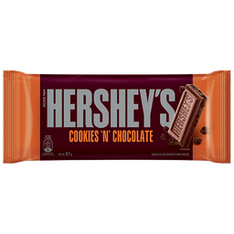 Barra De Chocolate Cookies N Chocolate 87 g