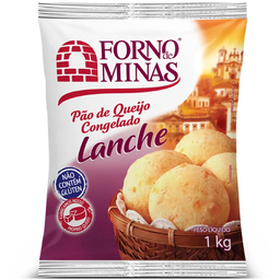 Pão De Queijo E Minas Lanche 1 Kg