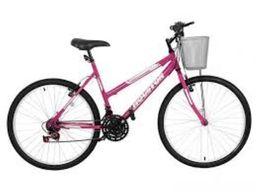 Bicicleta Aro 26 Houston 21 Marchas Fx26M1Q Lazer Rosa
