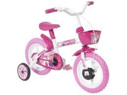 Bicicleta Infantil Aro 12 Track Bikes Arco Íris Rosa