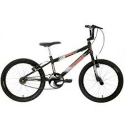 Bicicleta Infantil Aro 20 Track Bikes Noxx Bmx Preta