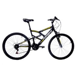 Bicicleta Topbike Aro 26 21 Marchas Fts Lazer Cinza