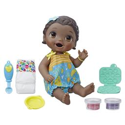 Boneca Baby Alive Negra Lanchinhos Diversão E5839