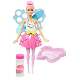 Boneca Barbie Fantasia Fada Bolhas Mágicas 32,5 Cm Mattel Dvm95