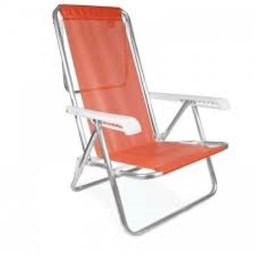 Cadeira Praia 77X6 25X109 Coral Od126231