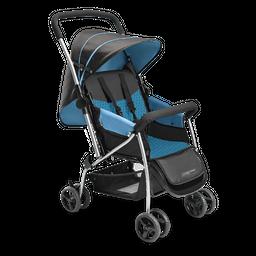 Carrinho De Bebê Berço Flip Bb503 Multikids Baby Azul