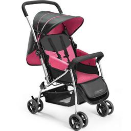 Carrinho De Bebê Berço Flip Bb504 Multikids Baby Rosa