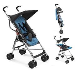 Carrinho De Bebê Guarda Chuva Pocket Multikids Baby Azul