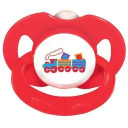 Chupeta Nk Ii Bico Ortodôntica Trem Vermelha 2123 T1