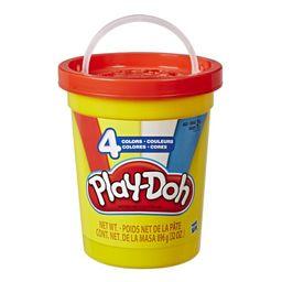 Conjunto Playdoh 4 Potes Super Pote E5045