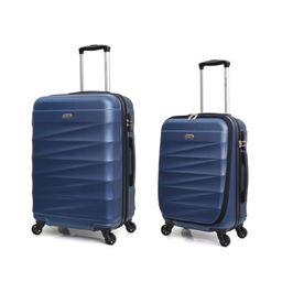 Mala Abs 4 Rodas Carrefour Azul 62 Cm Od126823