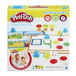 Massa De Modelar Play-Doh Aprendendo Os Números Hasbro