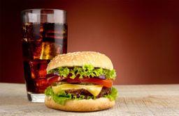 Hambúrguer simples + Refri Lata
