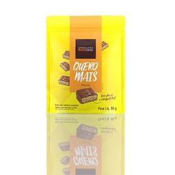 Quero Mais Wafer de Paçoca Coberto Chocolate - 70g