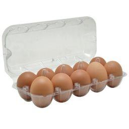 Ovos F.Toca Vermelho Orgânico Caipira Jumbo Com 10 Und