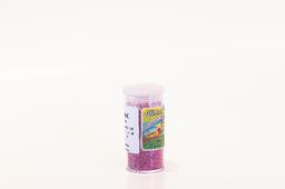 Glitter pvc pink 20g