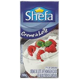 Creme De Leite Shefa 200 g