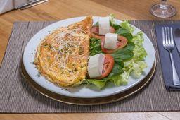 Omelete de Filé Mignon