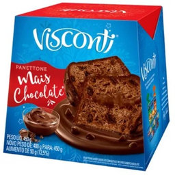 Visconti Panettone Recheado Mais Chocolate