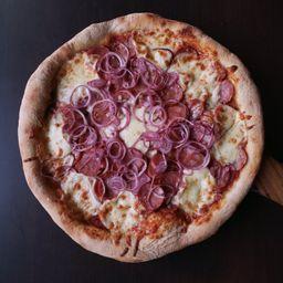 Pizza Calabresa 4 fatias