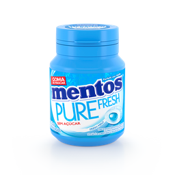 Goma Mascar Mentos Pure Fresh Mint 56 g