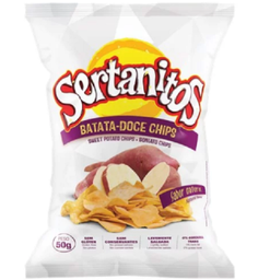 Chips Sertanitos Batata Doce 50 g