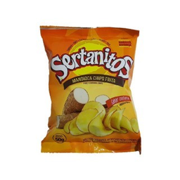 Chips Sertanitos Mandioca Natural 50 g