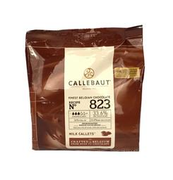 Chocolate Callebaut Gotas Leite 33,6% 400 g