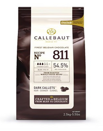Chocolate 54,5% Darkcal 811 Callebaut 2,5 Kg