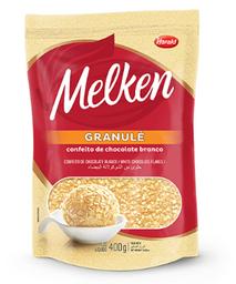 Granulado Melken Chocolate Branco Granulé 400 g