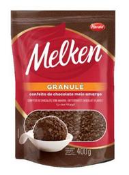 Granulado Melken Chocolate Meio Amargo Granulé 400 g