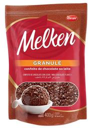 Granulado Granulé Melken Chocolate Ao Leite 400 g