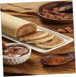 Bolo de Rolo de Chocolate - 420g