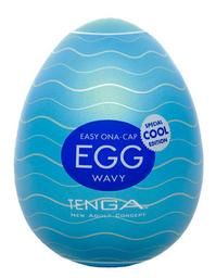 Tenga Egg Wavy Cool - Masturbador Masculino Sensacao Refrescante