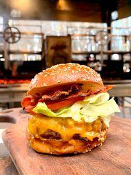 X Burger In Natura Salada Bacon