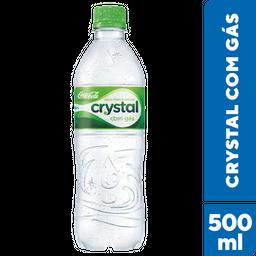 Água Mineral Com Gás Crystal 500 mL