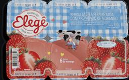 Iogurte Morango Elegê Com 6 Und