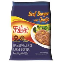 Beef Burger Bovino Com Queijo Sbq Congelado
