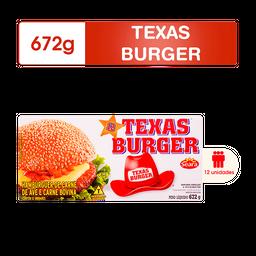 Hambúrguer Caixa Texas Burger