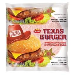 Texas Burguer Granel 180 g Com 2 Und