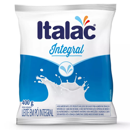 Leite Pó Integral Italac 400 g